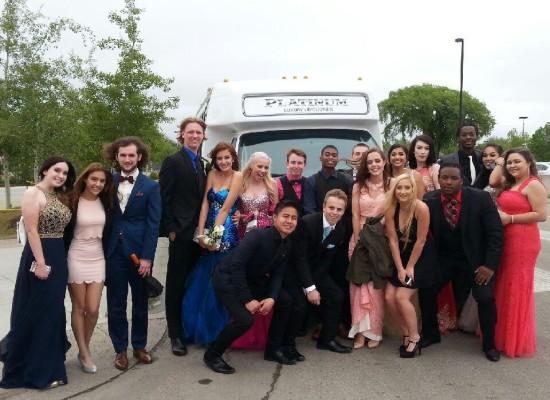 Grad Limo Party Bus..Congratulations Grad 2016