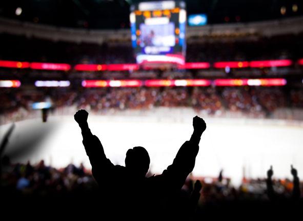 Edmonton Oilers Fan Cheering